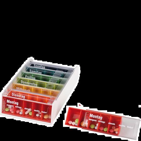 FRÜHWALD Medikamentenbox Regenbogen