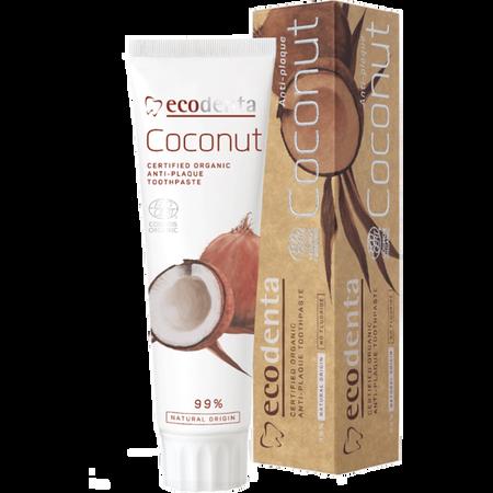 ecodenta Kokosnuss Certified Organic Anti - Plaque Zahnpasta