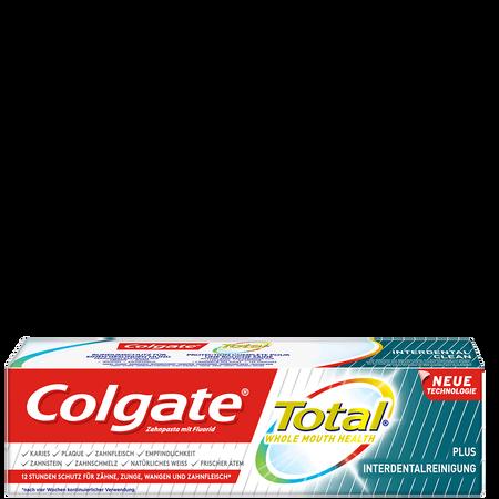 Colgate Total Plus Interdentalreinigung Zahncreme