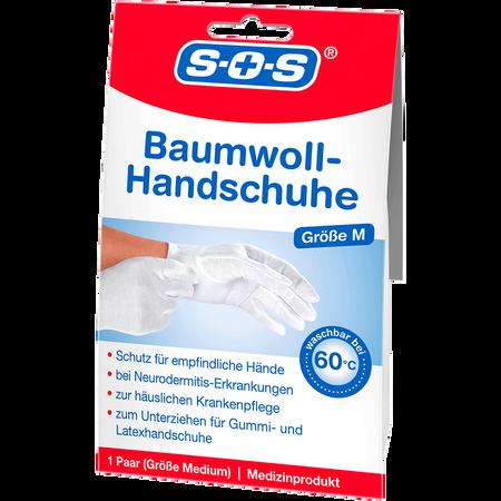 SOS Baumwoll Handschuhe