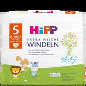 Bild: HiPP Babysanft Windeln Junior 5 11-17 kg