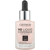 Bild: Catrice HD Liquid Coverage Foundation 002 porcelain beige