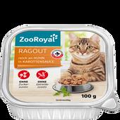 Bild: ZooRoyal Ragout reich an Huhn in Karottensauce