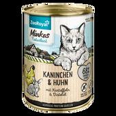 Bild: ZooRoyal Minkas Naturkost Adult Kaninchen & Huhn Katzenfutter