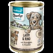 Bild: ZooRoyal Charlys Naturkost Lamm & Rind Hundefutter