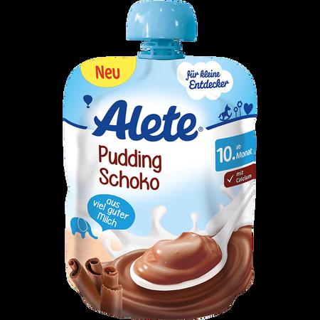 Alete Quetschbeutel Pudding Schoko