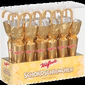 Bild: Küfferle Schoko Schirmchen Gold