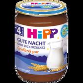 Bild: HiPP Gute-Nacht Grießbrei pur