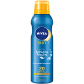 Bild: NIVEA Sun Schutz & Frische Sonnenspray LSF 20