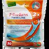 Bild: Plackers Twin-Line Zahnseide Sticks