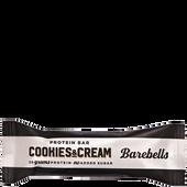 Bild: Barebells Cookies and Cream Riegel