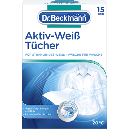 Dr. Beckmann Aktiv-Weiß Tücher
