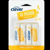 Bild: clever Power Alkaline AA Mignon LR6 1.5 V