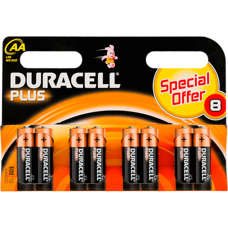 DURACELL Plus Mignon AA K8 Batterien