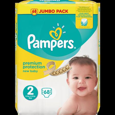 Pampers Premium Protection Gr. 2 (3-6 kg) Jumbo Pack