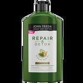 Bild: JOHN FRIEDA Repair & Detox Shampoo Avocado-Öl + Grüner Tee