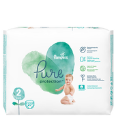 Bild: Pampers Pure Protection Gr. 2 Mini 4-8 kg