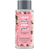 Bild: Love Beauty &  Planet Blooming Colour Shampoo Murumuru Butter & Rose