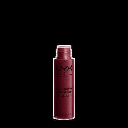 NYX Professional Make-up Soft Matte Metallic Lip Cream