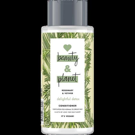 Love Beauty &  Planet Delightful Detox Conditioner Rosemary & Vetiver