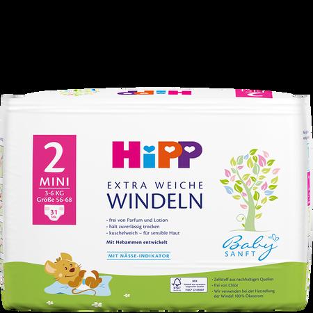 HiPP Babysanft Windeln Mini 2 3-6 kg