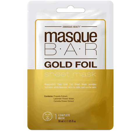 masque BAR Gold Foil Sheet Mask