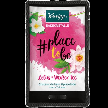 Kneipp Badekristalle #place to be Lotus-Weißer Tee