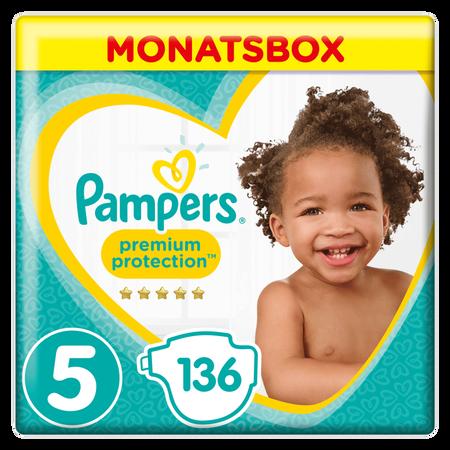 Pampers Premium Protection Gr.5 Junior 11-16kg MonatsBox