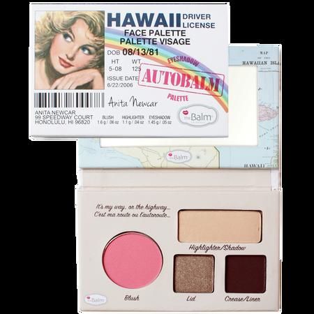 theBalm Autobalm Hawaii Face Palette