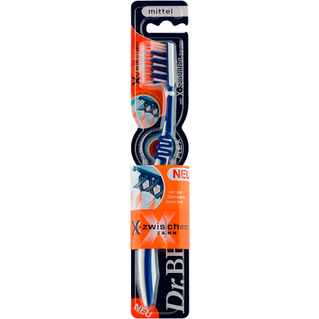 Dr. BEST Zahnbürste X-Zwischenzahn mittel