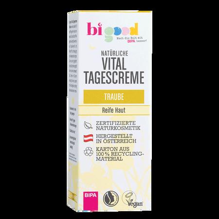 bi good Natürliche Vitaltagescreme Traube