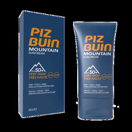 PIZ BUIN Mountain Sun Cream LSF 50