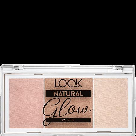 LOOK BY BIPA Natural Glow Palette