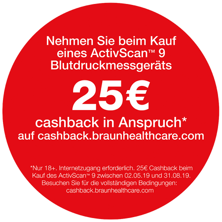 Braun ActivScan 9 Blutdruckmessgerät