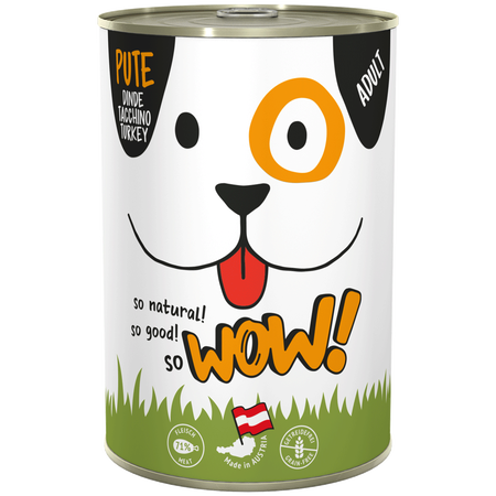 WOW Adult Pute Hundefutter