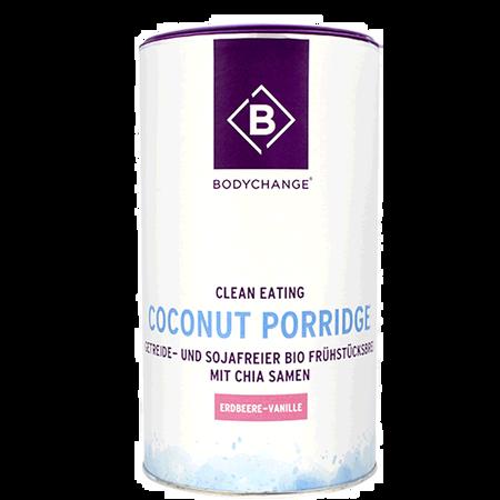 BODYCHANGE Coconut Porridge Erdbeere-Vanille