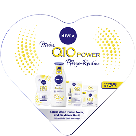 NIVEA Q10 Power Pflege-Routine