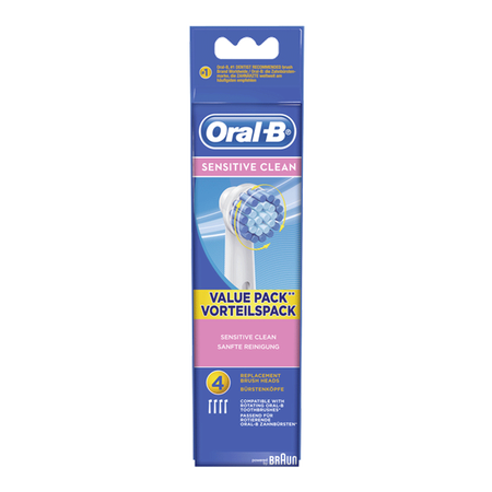 Oral-B Sensitive Clean Aufsteckbürsten