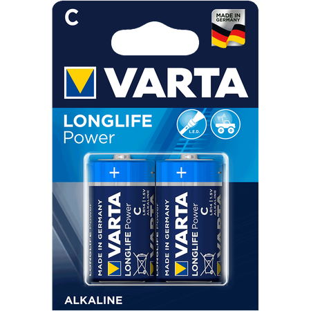 Varta Alkaline Longlife Power C