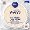 Bild: NIVEA Hyaluron Cellular Filler 3in1 Pflege Cushion dunkel