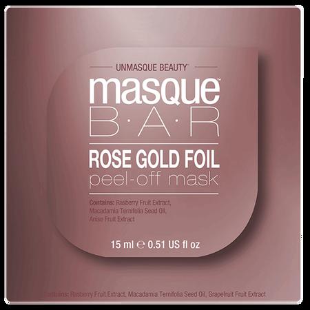 masque BAR Rose Gold Foil Peel-off Maske Pod