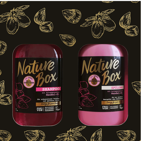 Nature Box Pflegeset Mandel-Öl