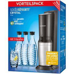 Bild: sodastream Crystal 2.0 mit 3 Karaffen