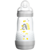 Bild: MAM Easy Start Anti-Colic 260ml Time for Love - Babyflasche Grau