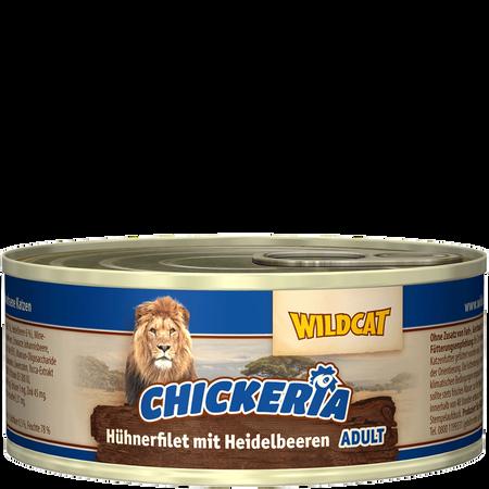 Wildcat Chickeria Huhn Heidelbeeren