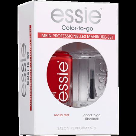 Essie Nagellack Set really red