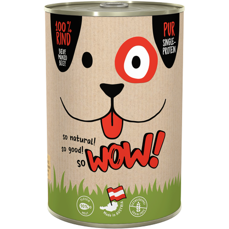 WOW Adult Rind pur Hundefutter