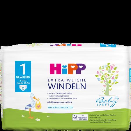 HiPP Babysanft Windeln Newborn 1 2-5 kg