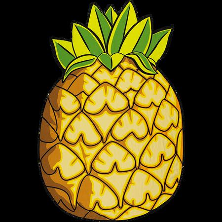 LOOK BY BIPA Strandtuch Ananas
