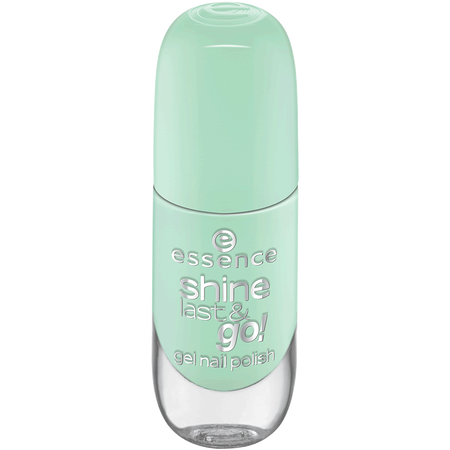 essence Gel nail polish shine last & go!